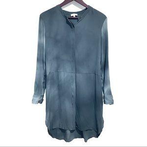 Aritzia Wilfred Bossut Silk Tunic Dress